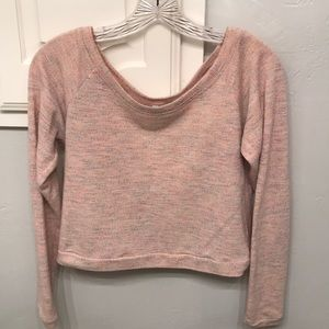 ⚡️2 for $15 Soft Pink Crop Top